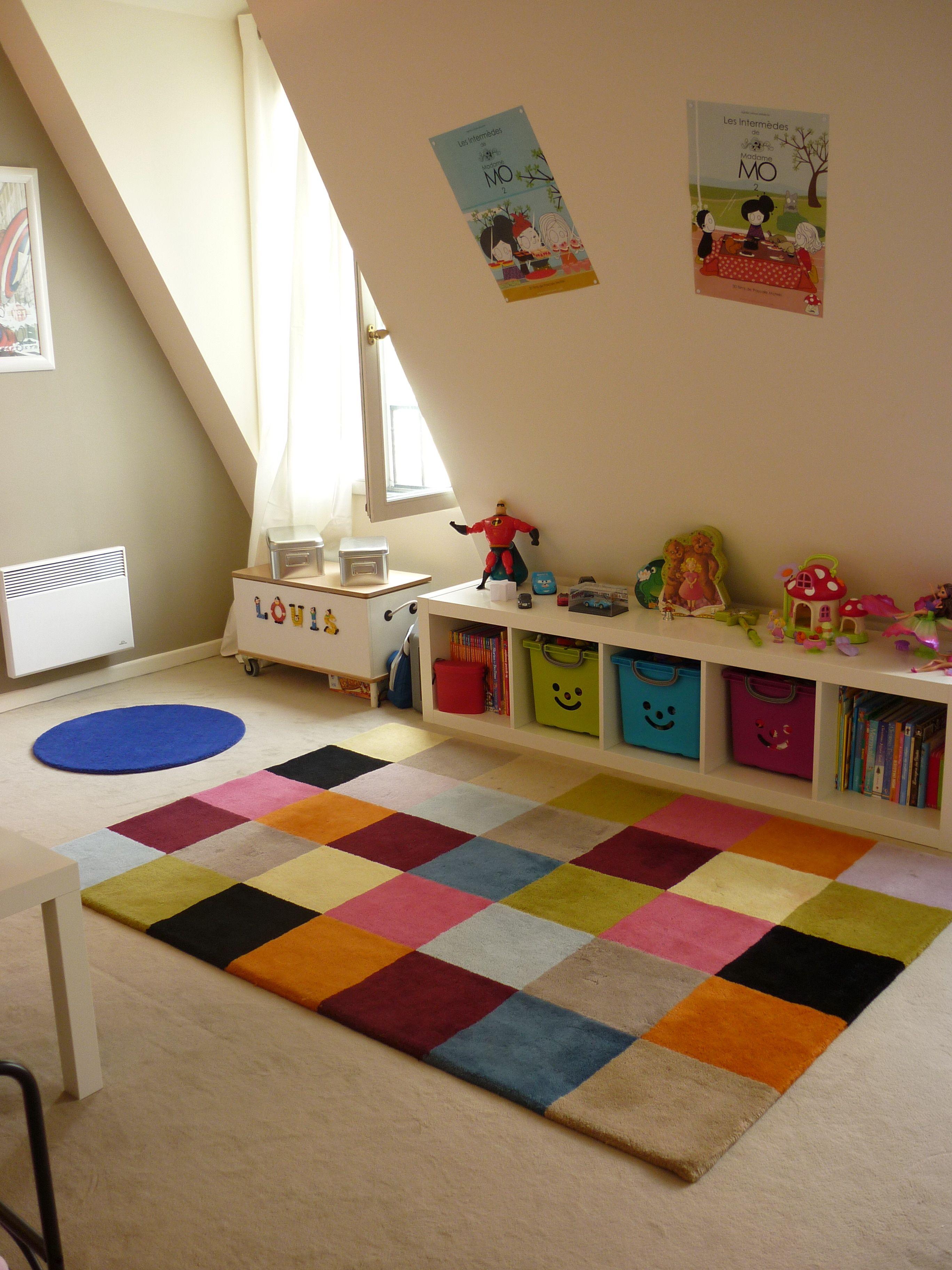 Leroy Merlin Chambre Enfant une chambre, deux enfants, deux espaces - la déco décodée