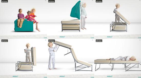 un pouf un lit je ne sais pas trop en fait la d co d cod e. Black Bedroom Furniture Sets. Home Design Ideas