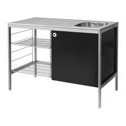 un meuble de cuisine spécial tout petit espace - la déco décodée - Meubles Cuisine Inox