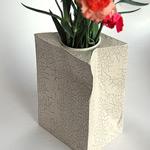 Vase sachet papier