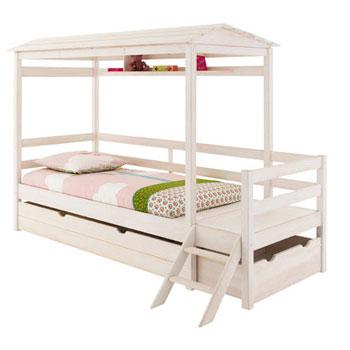 stripes le nouveau lit cabane de fly la d co d cod e. Black Bedroom Furniture Sets. Home Design Ideas