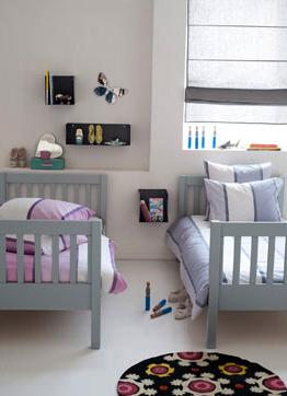 Am pm invente les lits superpos s qui se transforment en lits jumeaux ou en b - Lits superposes ampm ...
