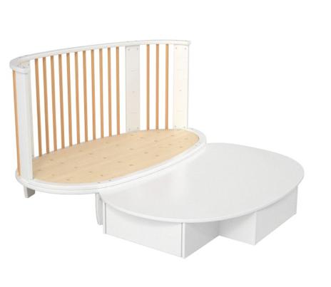 le lit volutif pour b b caribou de songes et rigolades est d cid ment tr s tr s intelligent. Black Bedroom Furniture Sets. Home Design Ideas