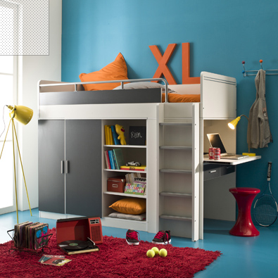 Changeons de lit la d co d cod e - Lit avec armoire integree ...
