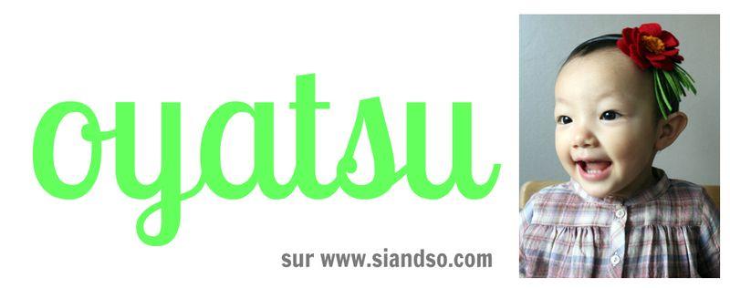Oyatsu banner